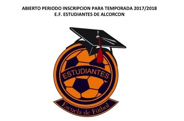 La E.F. Estudiantes de Alcorcón abre periodo de inscripción para la temporada 2017/18