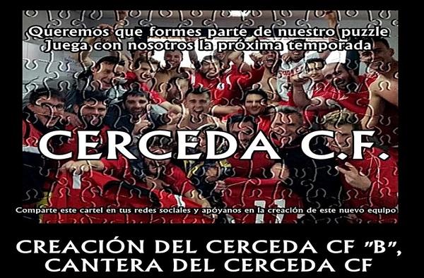 El Cerceda C.F. crea para la temporada 2017/18 su filial sénior