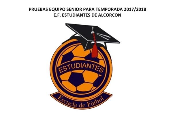 El equipo Sénior de la E.F. Estudiantes de Alcorcón realiza pruebas para la temporada 2017/18