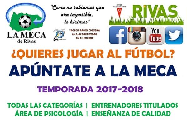 La Meca de Rivas abre el período de pruebas en todas las categorías para la temporada 2017-2018