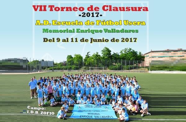 Todo preparado para el VII Torneo de Clausura de la E.F. Usera