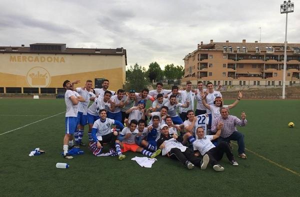 """Ascenso y Campeonato de liga del C.F. San Agustín del Guadalix """"B"""" - Temporada 2016/17"""