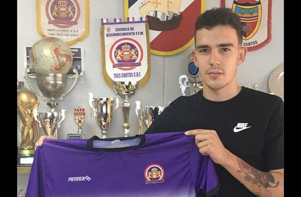 El Tres Cantos C.D.F. prepara su debut en Tercera División con el fichaje de Manu Ruiz