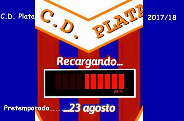 Carlos Fuertes entrenará al C.D. Plata en la temporada 2017/18, el equipo prepara la pretemporada buscando amistosos