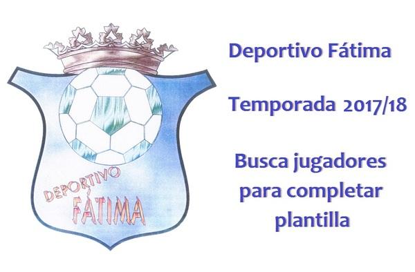 El Deportivo Fátima de Móstoles busca jugadores para completar plantilla de cara a la temporada 2017/18