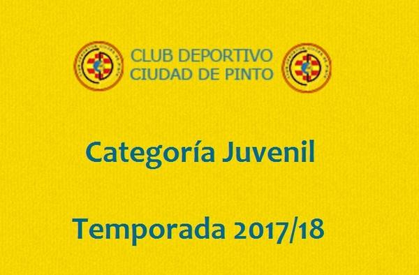 El Ciudad de Pinto Juvenil busca jugadores para la temporada 2017/18