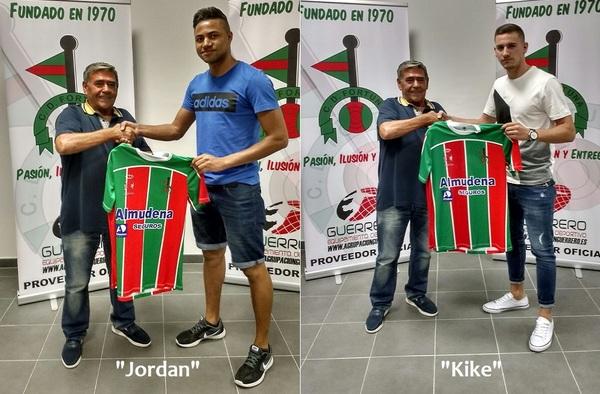 Kike Navarro y Jordan Castaño, dos defensas de calidad para el nuevo proyecto del C.D. Fortuna