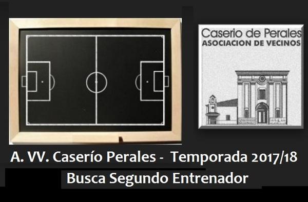 El Caserío Perales busca segundo entrenador para la temporada 2017/18