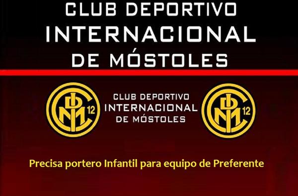 El Internacional de Móstoles busca un portero Infantil para su equipo de Preferente