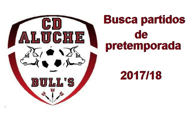 El C.D. Aluche Bull´s busca partidos de pretemporada a partir del 22 de agosto de 2017