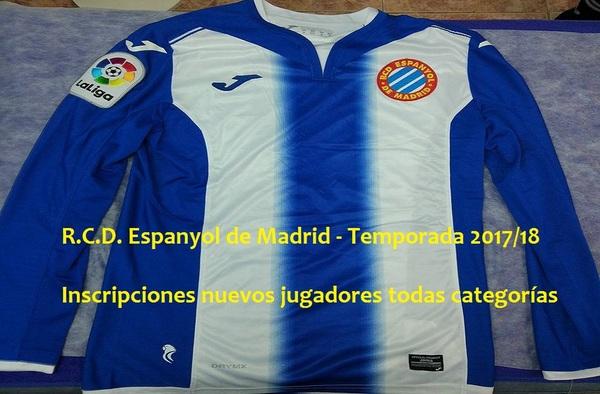 Abiertas las inscripciones para las diferentes categorías en el R.C.D. Espanyol de Madrid
