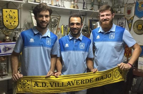 La A.D. Villaverde Bajo presenta el Cuerpo Técnico del equipo sénior para la temporada 2017/18