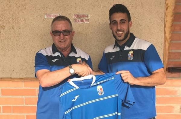 El goleador Sergio Sobrino se incorpora al primer equipo del Camarma C.F. para la temporada 2017/18
