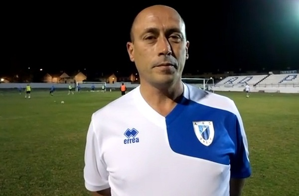 Declaraciones de Paco Castellano, integrante del cuerpo técnico del Parla, previas al partido frente al Real Aranjuez