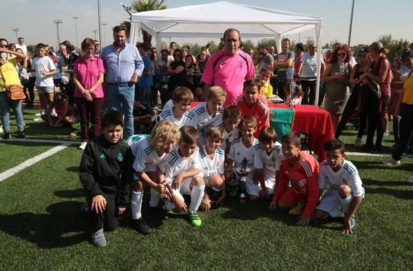 El Real Madrid, campeón del XII Torneo Benjamín Fútbol 7 San Nicaso