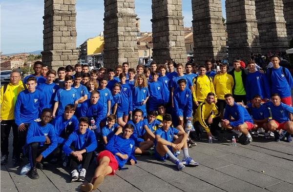 Equipos del Lugo Fuenlabrada y Unión Adarve visitan a la Gimnástica Segoviana y Real Valladolid respectivamente con Fútbol In Events
