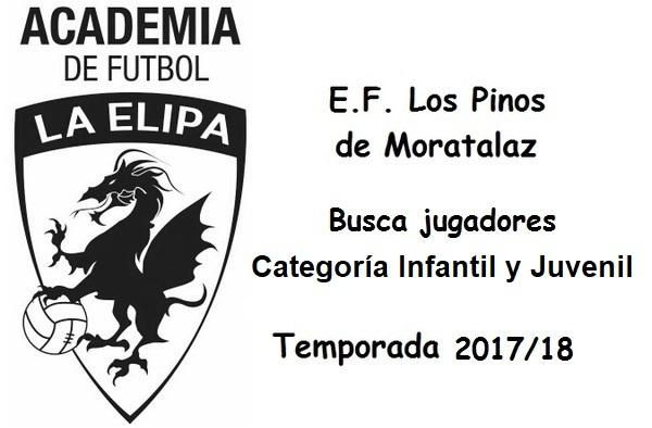 Los Pinos de Moratalaz buscan jugadores Infantiles y Juveniles - Temporada 2017/18