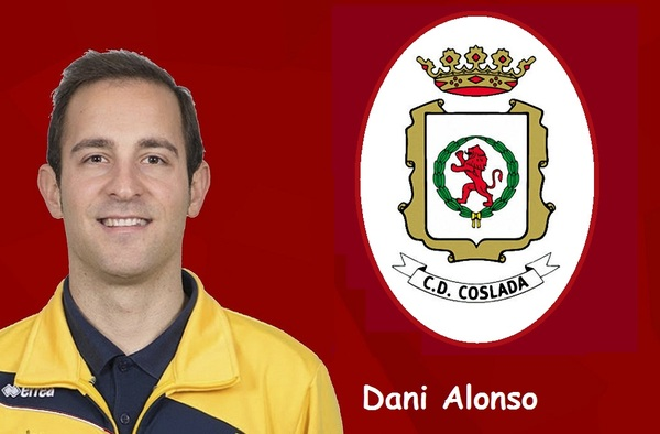 El C.D. Coslada anuncia la sustitución en el banquillo de Gabi Pérez por Dani Alonso