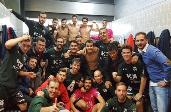 La Moraleja C.F. lidera el grupo 1º de Primera Regional a un partido de finalizar el año 2017