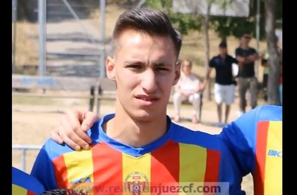 Iván García, nuevo jugador del Real Aranjuez - Temporada 2017/18
