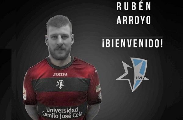 Rubén Arroyo jugará a partir de la jornada 17ª en el Internacional de Madrid Boadilla