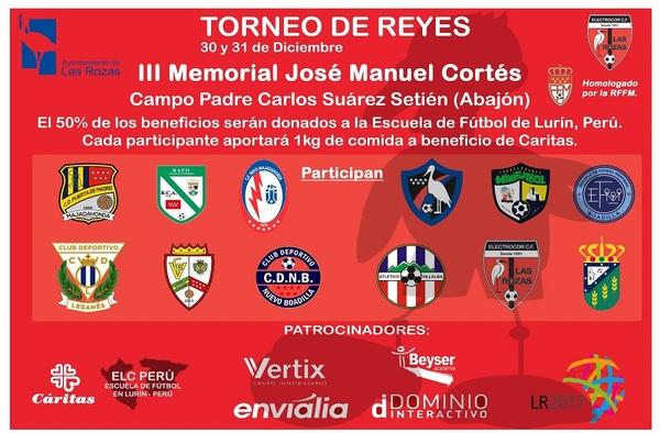 Torneo de Reyes en Las Rozas, 30 y 31 de diciembre de 2017