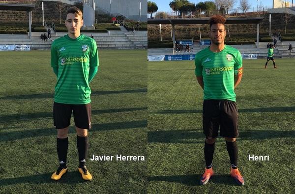 Henri Gómez Saah y Javier Herrera, nuevas incorporaciones en la A.C. Intersoccer Madrid