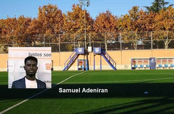Samuel Adeniran, un estadounidense para el filial del Leganés tras pasar por Portugal y Argentina