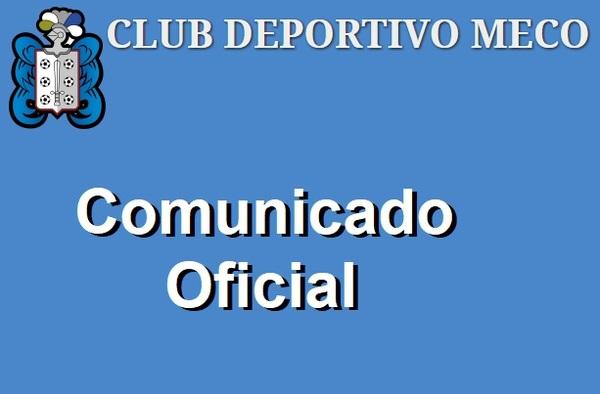 """Comunicado del C.D. Meco sobre los hechos ocurridos en su partido juvenil contra el C.D. Avance """"B"""""""