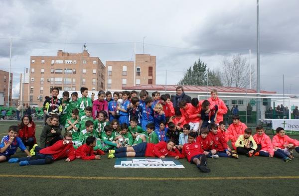 El Getafe C.F., ganador del I Torneo Madrileño C.D. Trivema Naval