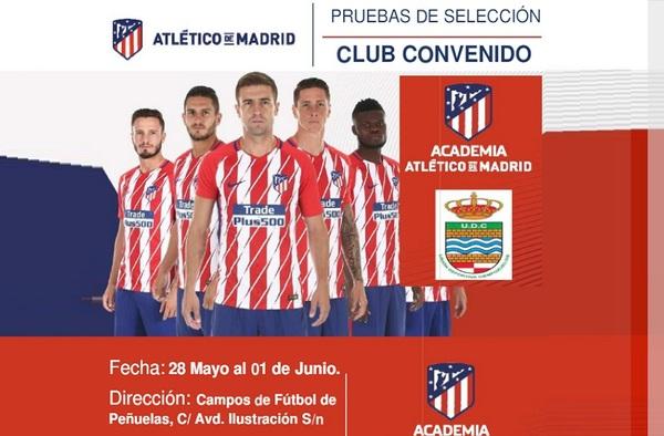 La EF Rayo Ciempozuelos, club convenido con el Atlético de Madrid, realizará pruebas de acceso para la temporada 2018/19