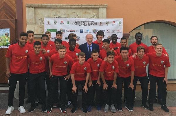 La AC Intersoccer referente en la presentación del III Torneo Vicente del Bosque de Alalpardo