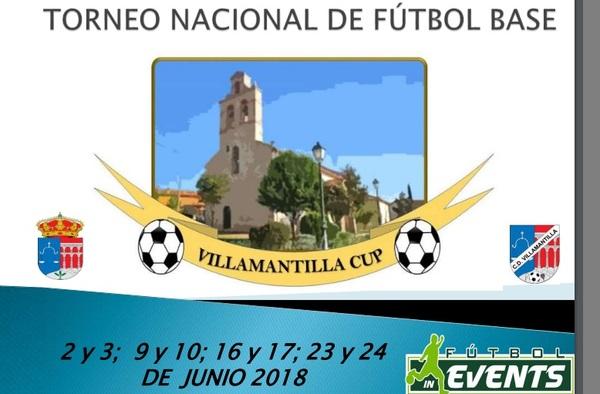 Fútbol In Events se trasladará al municipio madrileño de Villamantilla para organizar la Villamantilla Cup durante todos los fines de semana de junio