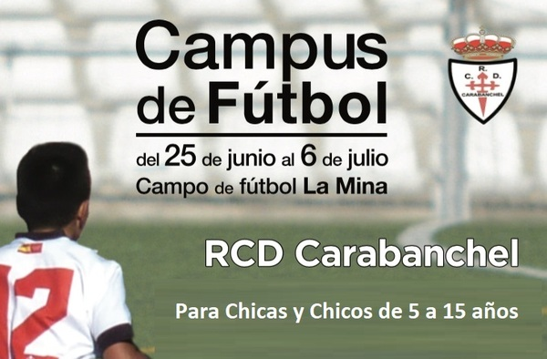 Campus de Fútbol Real C.D. Carabanchel - Verano 2018