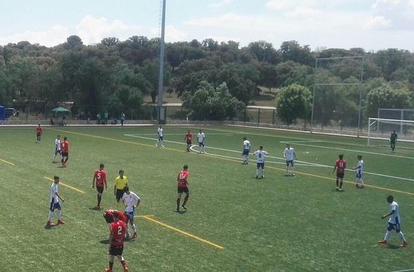 "Playoff Ascenso 2ª B: Internacional de Madrid Boadilla 0 - 0 CD Tenerife ""B"" ( Ida - Temporada 2017/18 - ronda campeones)"