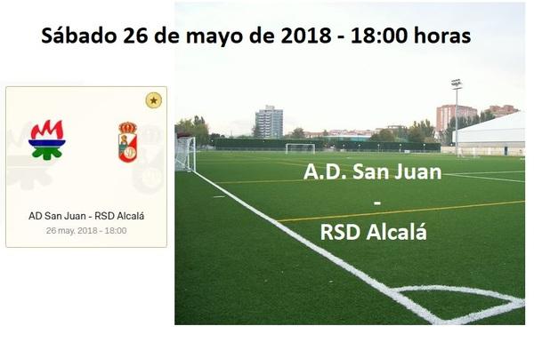 La RSD Alcalá buscará pasar de ronda en la lucha por el ascenso este próximo sábado en Pamplona