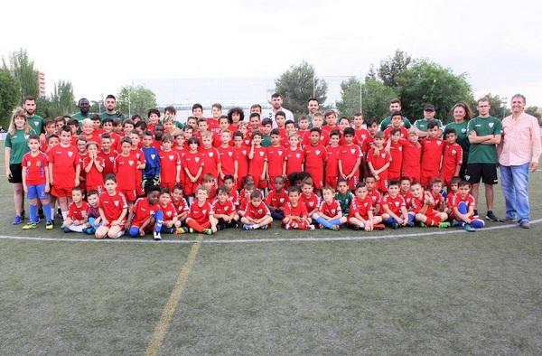 """El Móstoles C.F. protagonista del programa """"Fútbol en Madrid"""" de Telemadrid"""