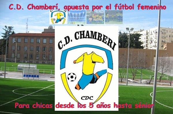 El C.D. Chamberí apuesta por el fútbol femenino para la temporada 2018/19 - Inscripciones para chicas desde 5 años hasta sénior