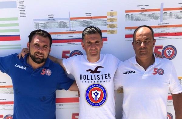 Paco Pereira, nuevo entrenador del C.D. Carranza para la temporada 2018/19