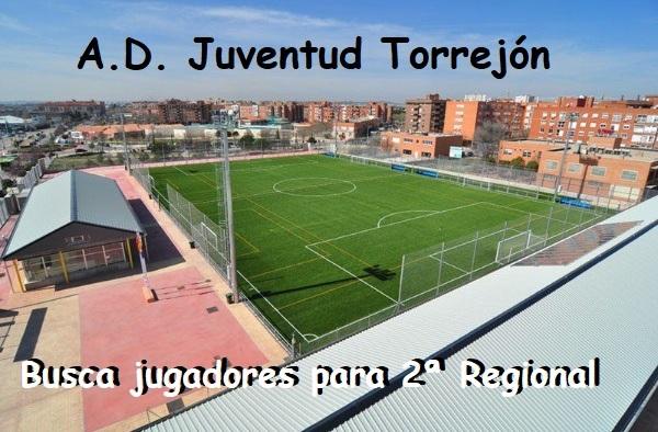 La A.D. Juventud Torrejón, busca jugadores para completar plantilla - Temporada 2018/19