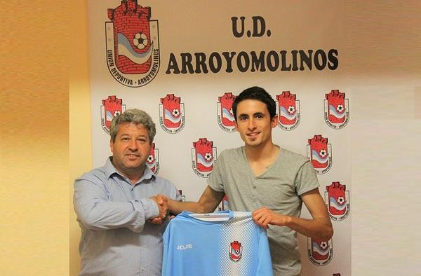 Sergio Santos, nuevo preparador físico de la U.D. Arroyomolinos para la temporada 2018/19
