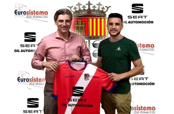 Diego Huerga, se vincula a la A.D. Torrejón C.F. para la temporada 2018/19