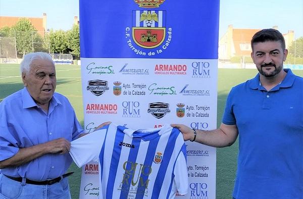 Jony Milara dirigirá al C.F. Torrejón de la Calzada en su regreso a Segunda Regional