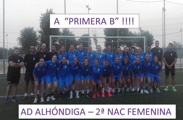 ¡¡ Presentación Oficial de A.D. Alhóndiga Femenino (2ª Nacional) !!