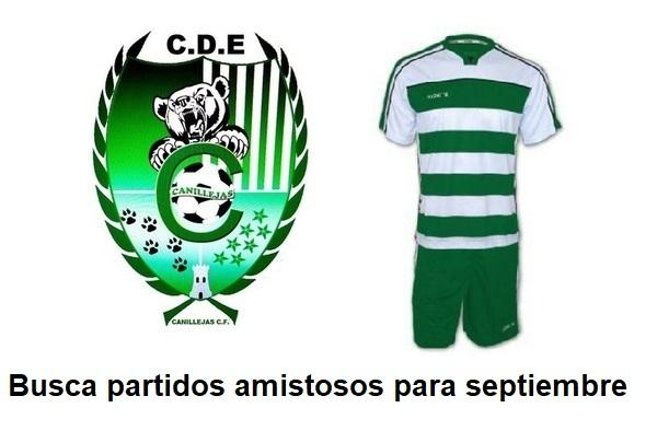 El CD Canillejas CF busca partidos amistosos en septiembre para sus categorías inferiores