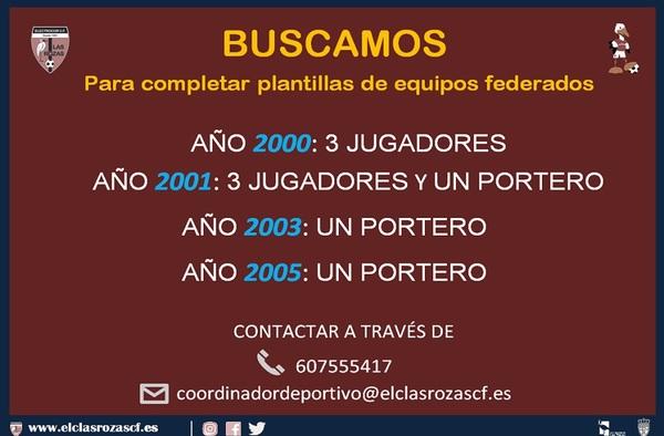 El Electrocor Las Rozas busca jugadores para completar plantillas - Temporada 2018/19