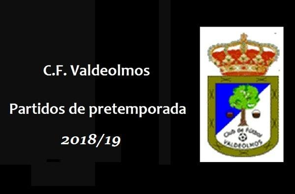 El C.F. Valdeolmos busca partidos de pretemporada 2018/19 contra equipos de Tercera Regional