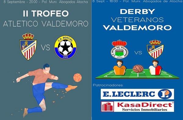 El Atlético Valdemoro CF organiza su II Trofeo que se jugará el 8 de septiembre de 2018