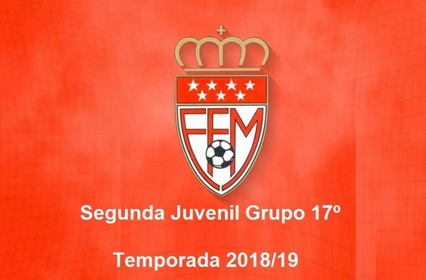Modificado el calendario del grupo 17º de Segunda Juvenil por bajas de equipos - Temporadas 2018/19
