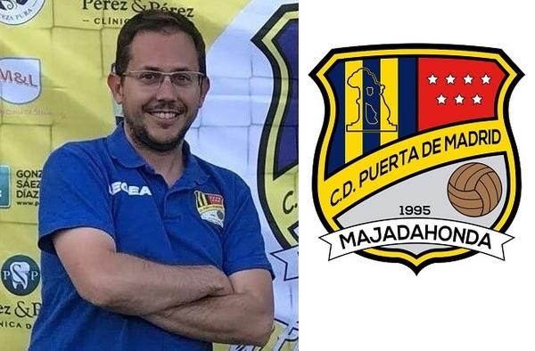 Entrevista a Guille Rocafort, entrenador del C.D. Puerta de Madrid - (Temporada 2018/19)